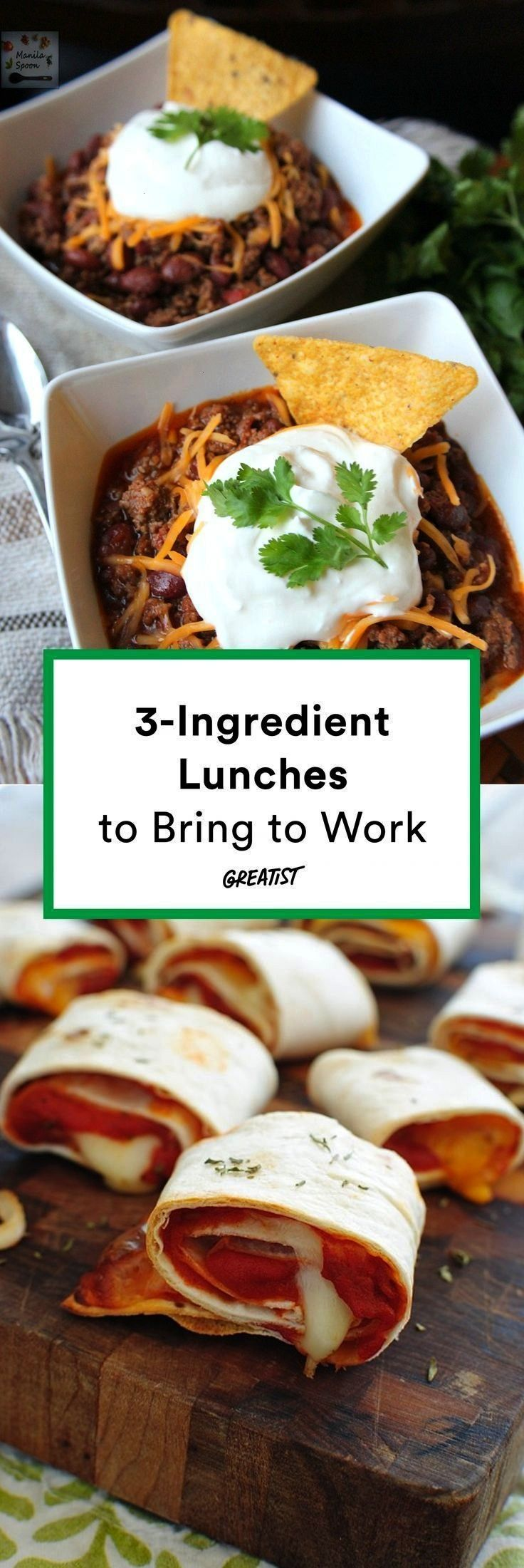 Three-Ingredient Lunches So Easy You Can Bring Them to Work -19 Three-Ingredient Lunches So Easy Yo
