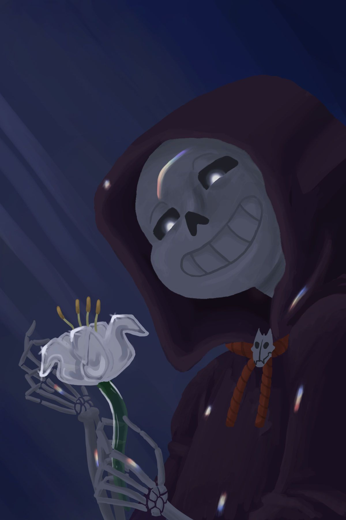 Wanted to draw some Reapertale before going back... - calicocantaloupe