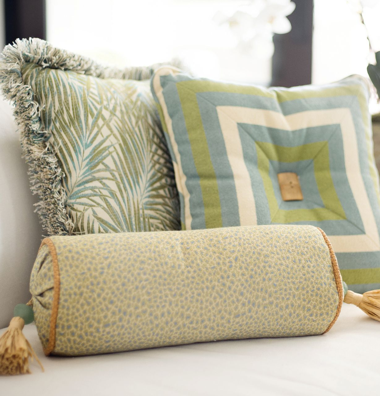 Caribbean Pillow Collection - Mike Ragan Home