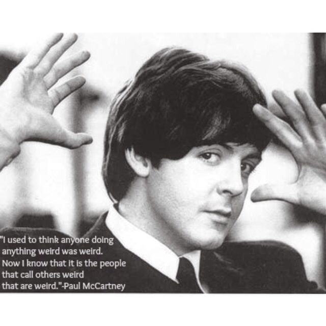 The Beatles Paul McCartney Quote (With images) Paul