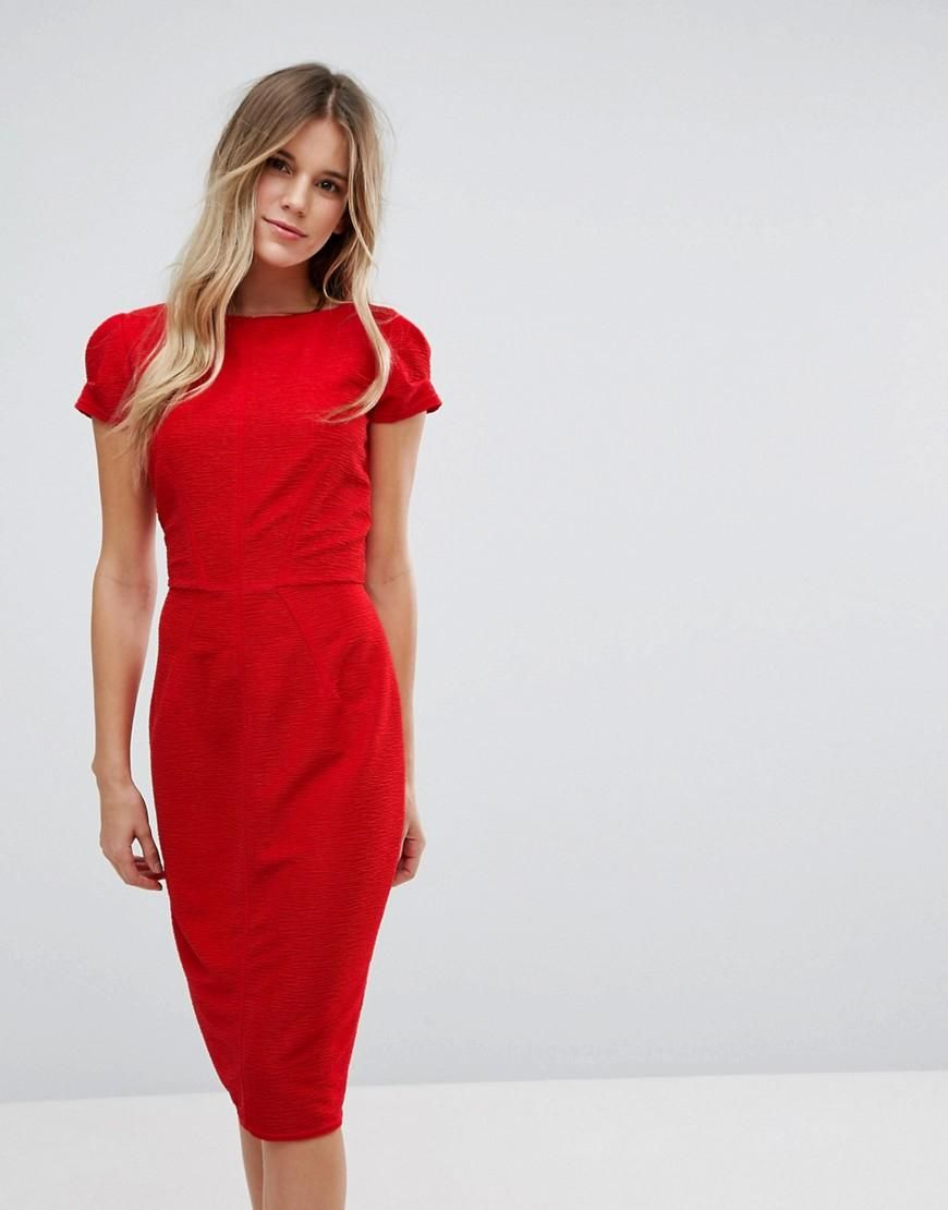 Closet Structured Plisse Pencil Dress Clearance With Mastercard Official Site Cheap Online Cheap Visit Clearance Outlet Locations Cheap Pre Order xbSsN