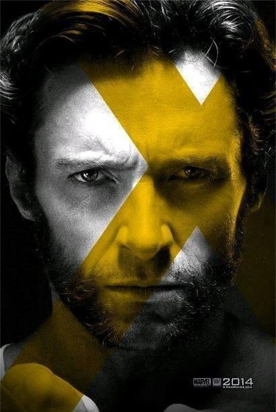 f7ee2073a8841 X-Men  Days of Future Past Wolverine Poster   Super Heróis ...