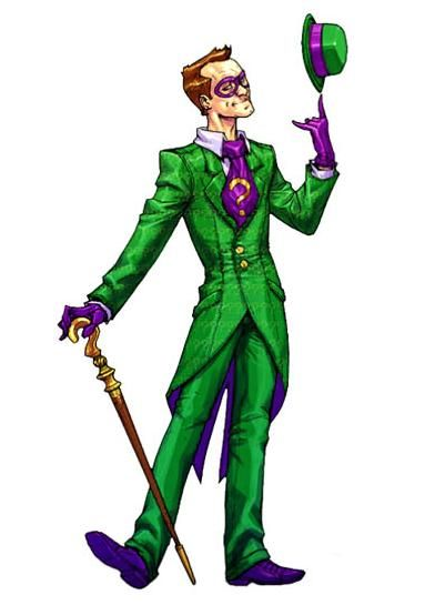 e13546fb996f The Riddler (Batman  Arkham Asylum)