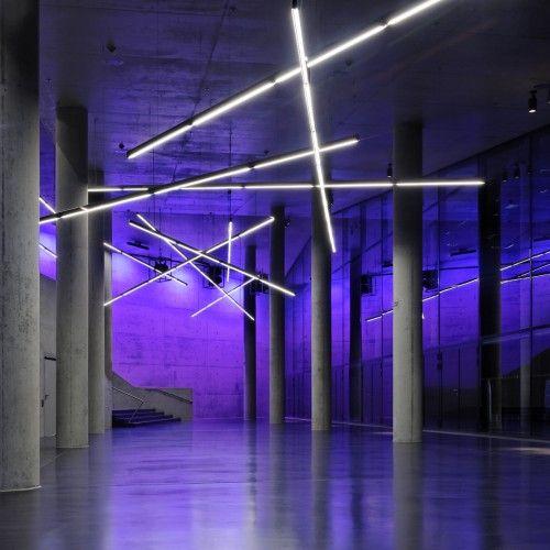 Illumination Small Olympic Hall Pfarre Lighting Design