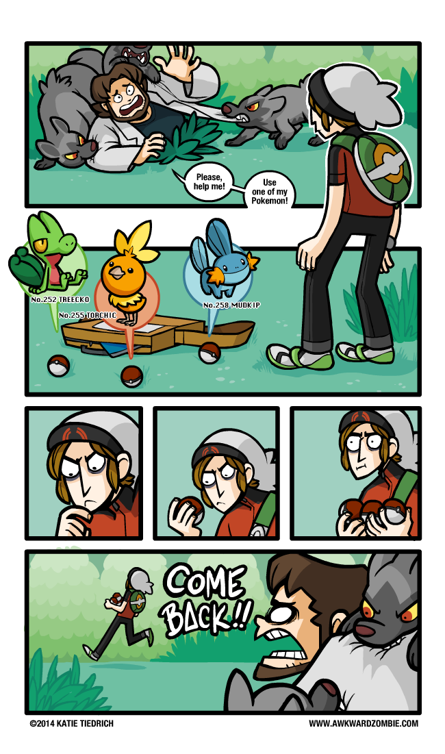 Awkward Zombie - Pokemon Alpha Sapphire and Omega Ruby