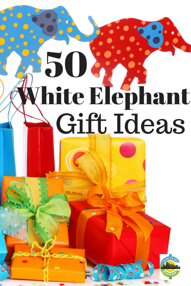 50 White Elephant gift exchange Ideas | Frugal Living Ideas ...