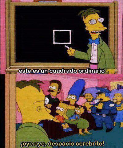 Mas Despacio Cerebrito Simpsons Los Simpsons Frases De Los Simpsons Y Memes De Los Simpson