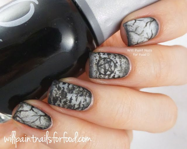 Will Paint Nails for Food: 31 Day Challenge: Day Twenty-Nine, Inspired by the Supernatural: Dark Willow