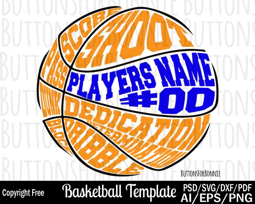Basketball svg, cricut, silhouette, basketball template