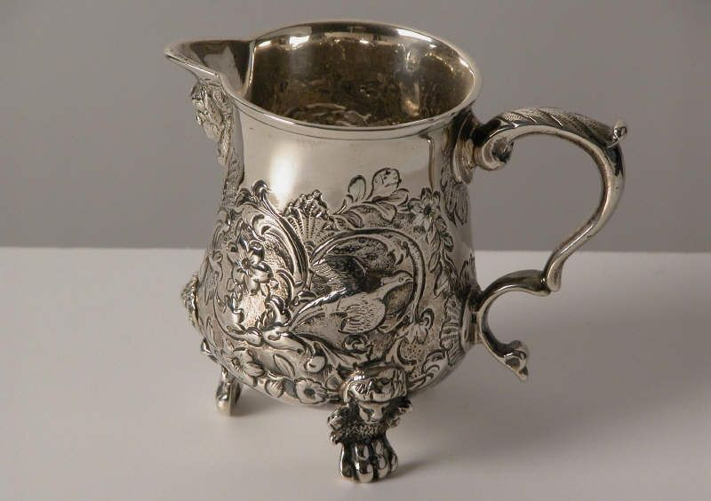 The stolen milk jug, which is part of a tea service given to Disraeli by Queen Victoria.
