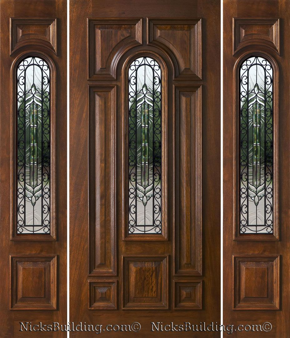 Entry Doors With Side Lights Exterior Doors With Sidelights