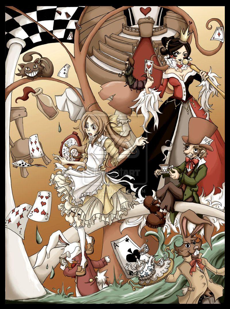Alice In Wonderland By Laaree Deviantart Com On Deviantart