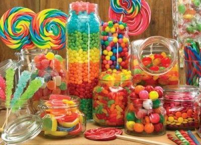Palapeli - Candy Jars, 1000 palaa