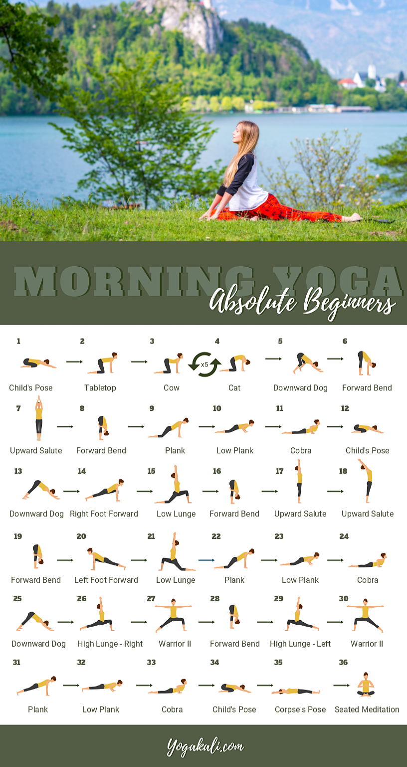 Simple Good Morning Yoga Flow For Beginners – Easy yoga for beginners – Aliko Blog – Wellecraft