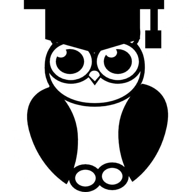 Búho de la graduación   Descargar Iconos gratis   hugo   Pinterest ...