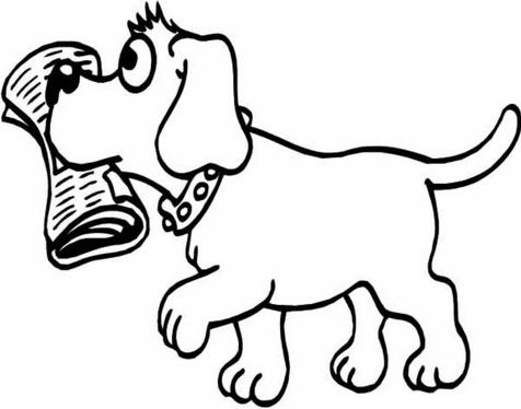 Cartoon Dogs Coloring Pages Are Now Available On The Internet That You Can Access Them Anytime And Anywh Animal Coloring Pages Coloring Pages Dog Coloring Page