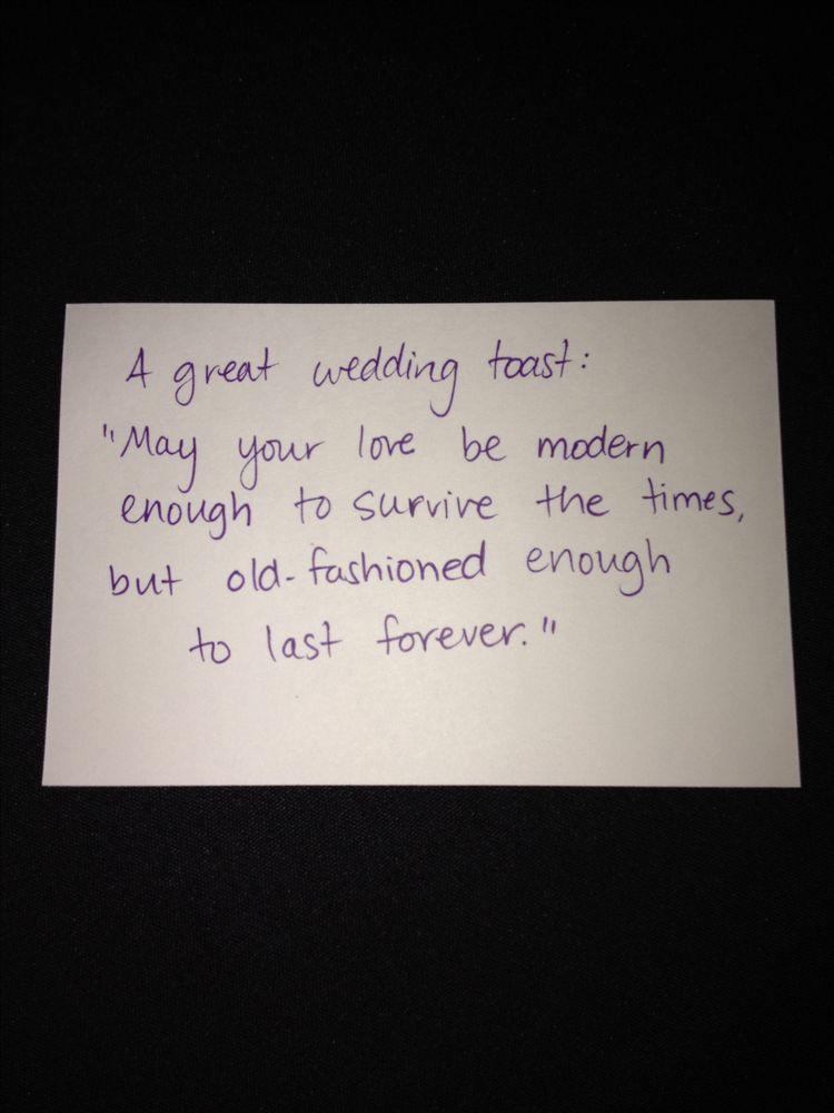 Great Wedding Toast Wedding Weddingreception Weddingtoast Wedding Toasts Wedding Quotes Wedding Speech