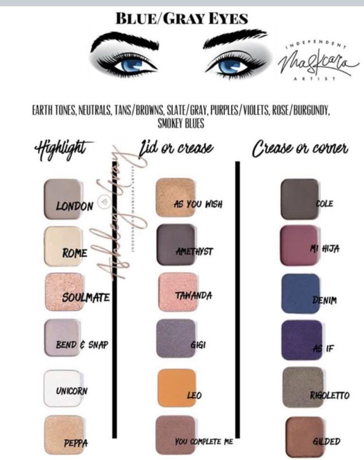 Maskcara Beauty Eyeshadow For Blue Eyes Maskcara Makeup Blue Eye Makeup