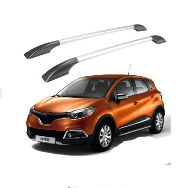Car Roof Rack Luggage Carrier Bar Car Accessories For Renault Captur 2014 2015 Car Styling Car Roof Racks Luggage Carrier Renault Captur