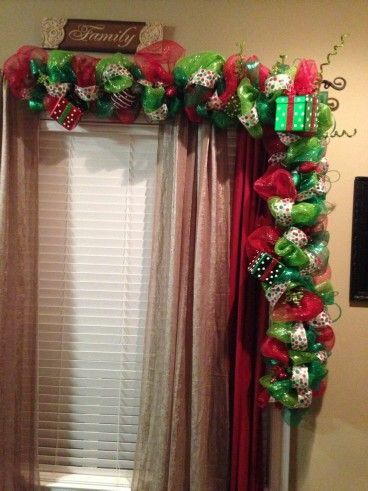 Resultado de imagen para decoracion de navidad para for Guirnaldas para puertas navidenas