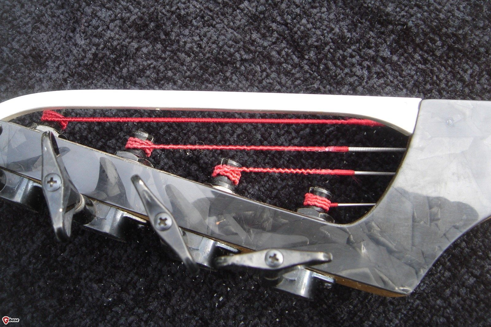 1993 ZETA Prism bass headstock