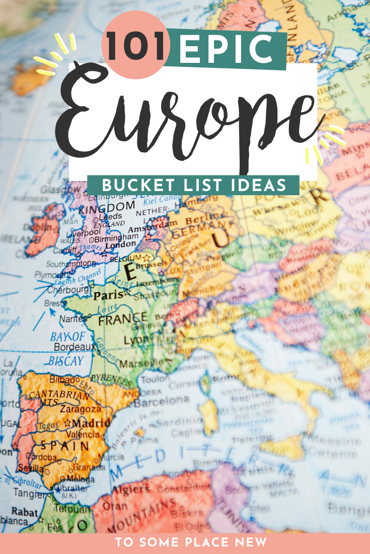 Europe places to travel to | European Bucket list countries to visit | use this European Bucket list ideas to create your own free printable #europe