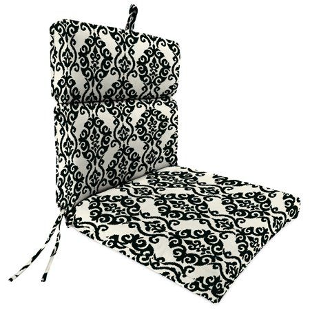 Outdoor 22 Inch X 44 Inch X 4 Inch Chair Cushion Clear Jordan