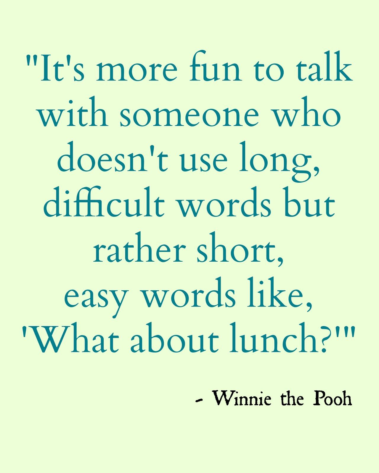 Tigger Tails for National Winnie the Pooh Day!! | Pooh quotes, Words,  Winnie the pooh quotes