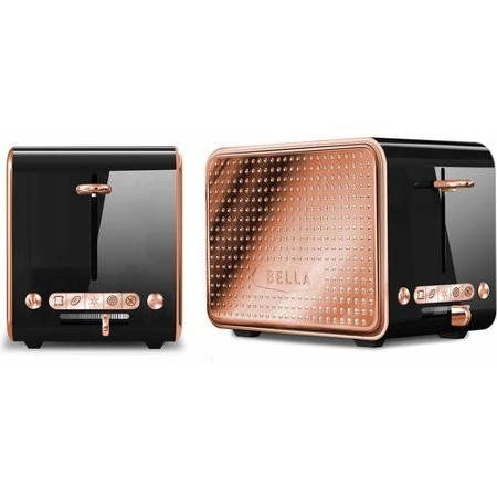 Rose gold toaster 50 copper decor ideas for the kitchen for Kitchen ideas rose gold