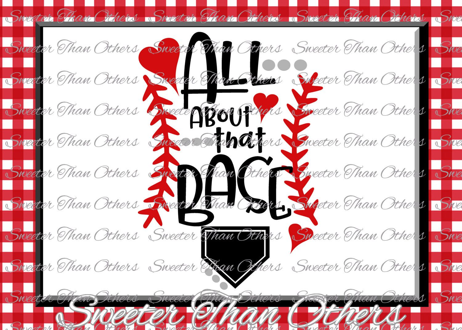 Baseball SVG love Softball htv Shirt Design Vinyl  (SVG and DXF Files) All about that base, Silhouette, Cameo, Cricut, Instant Download by SweeterThanOthers on Etsy