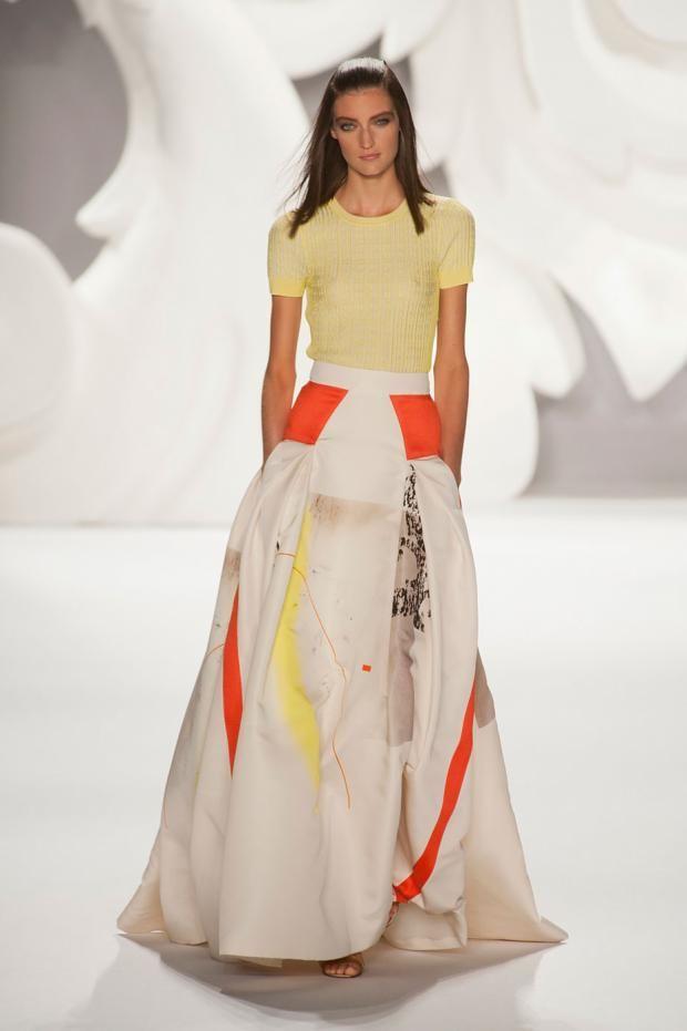 Carolina Herrera Fashion Week New York Spring/Summer 2013. Summer is looking GREAT!
