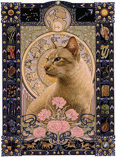 Лесли Энн Ивори. Гимн кошкам:)