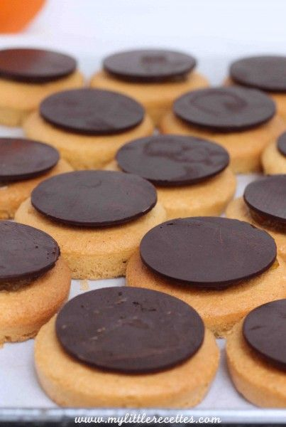 Pim's ou Jaffa cakes version home made