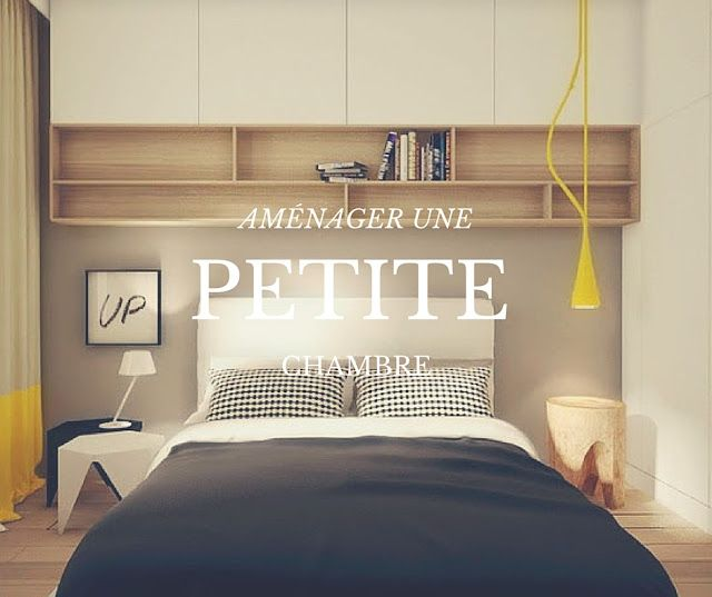 Comment aménager une petite chambre | Bedrooms, Tiny apartments and ...