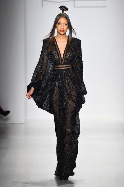 Michael Costello – Runway – Mercedes-Benz Fashion Week Fall 2015