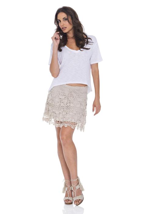 Adorable Crocheted Skirt