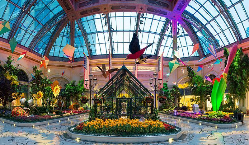 Las Vegas Botanical gardens, Bellagio conservatory