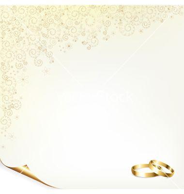 Wedding Background Vector Image On Com Imagens Convite De