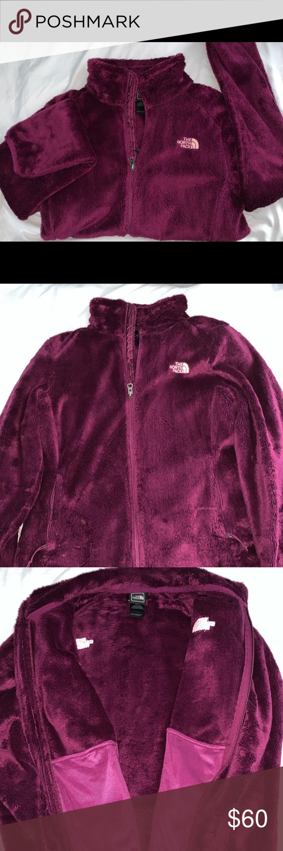 The North Face Women S Osito Jacket Purple North Face Women Jackets The North Face [ 1740 x 580 Pixel ]