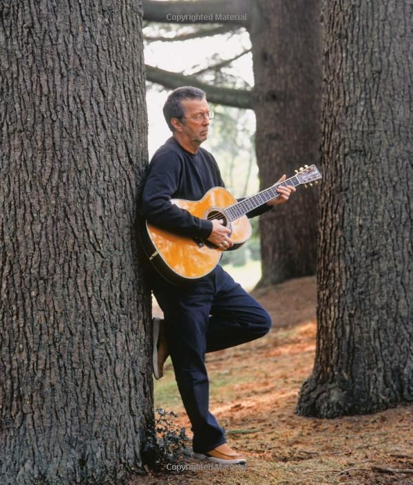 Eric Clapton has  been my musical inspiration since I learned how to play as a kid! I love strumming out some good old blues tunes.