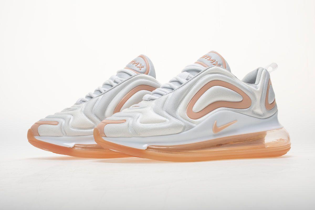 Nike Air Max 720 White Rose Pink AR9293 101 Sneaker4
