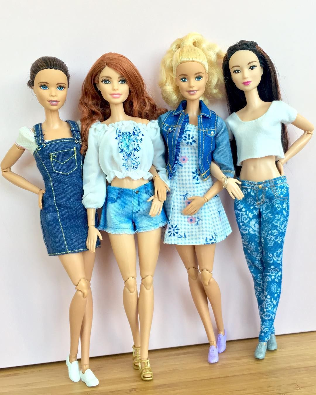 www.reciclandoenelatico.com   BARBIE   Pinterest   Barbie, Muñecas y ...