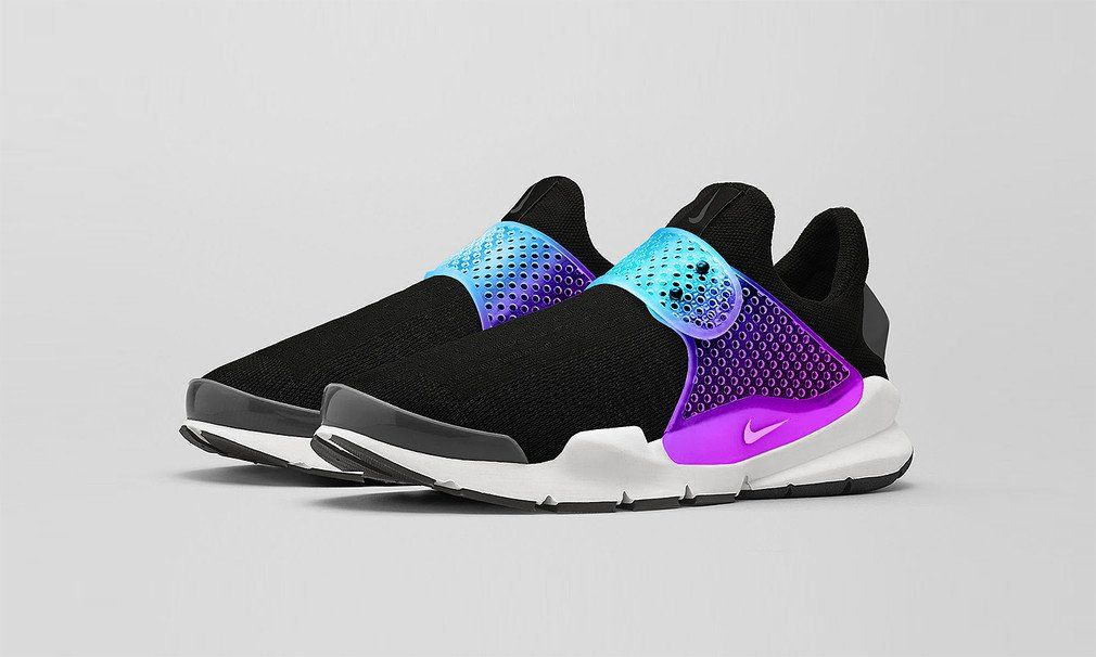 "nike free run 3 damen hot punch - FRAGMENT DESIGN X NIKE SOCK DART ""BLACK GRAPE"" 