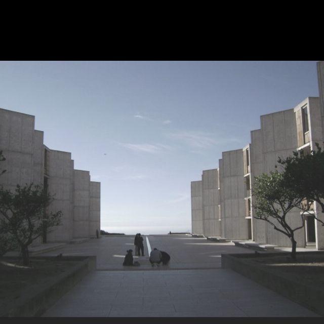 Salk Institute, La Jolla, CA - Louis Kahn