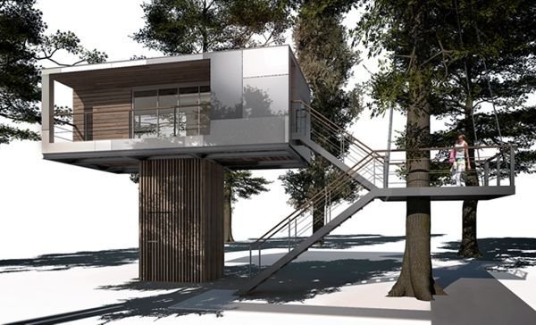 Article Source: Baumraum The Urban Tree House Is A Family Project And Is  Based On The Initiative Of The Grandfather Hans Joachim And His Grandson  Kolja, ...