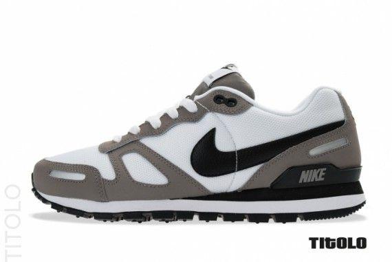 pretty nice ec0e4 cface Nike Air Waffle Trainer Sport Grey White Black