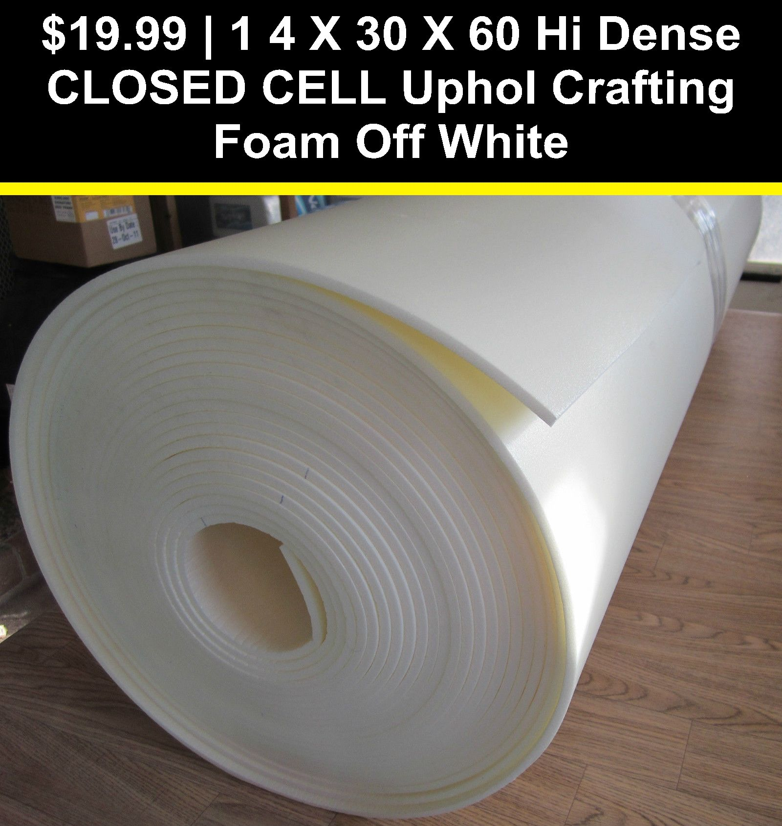 Styrofoam Forms 41200 1 4 X 30 X 60 Hi Dense Closed Cell Uphol Crafting Foam Off White Buy It Now Only 19 99 On Eba Foam Air Dry Modeling Clay Styrofoam