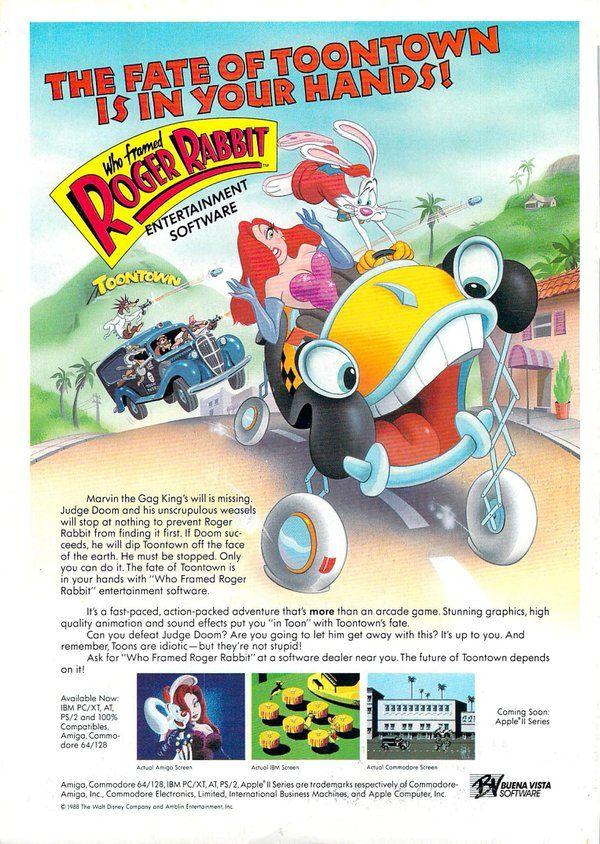 WFRR PC Poster.jpg | Who framed Roger Rabbit | Pinterest | Roger ...