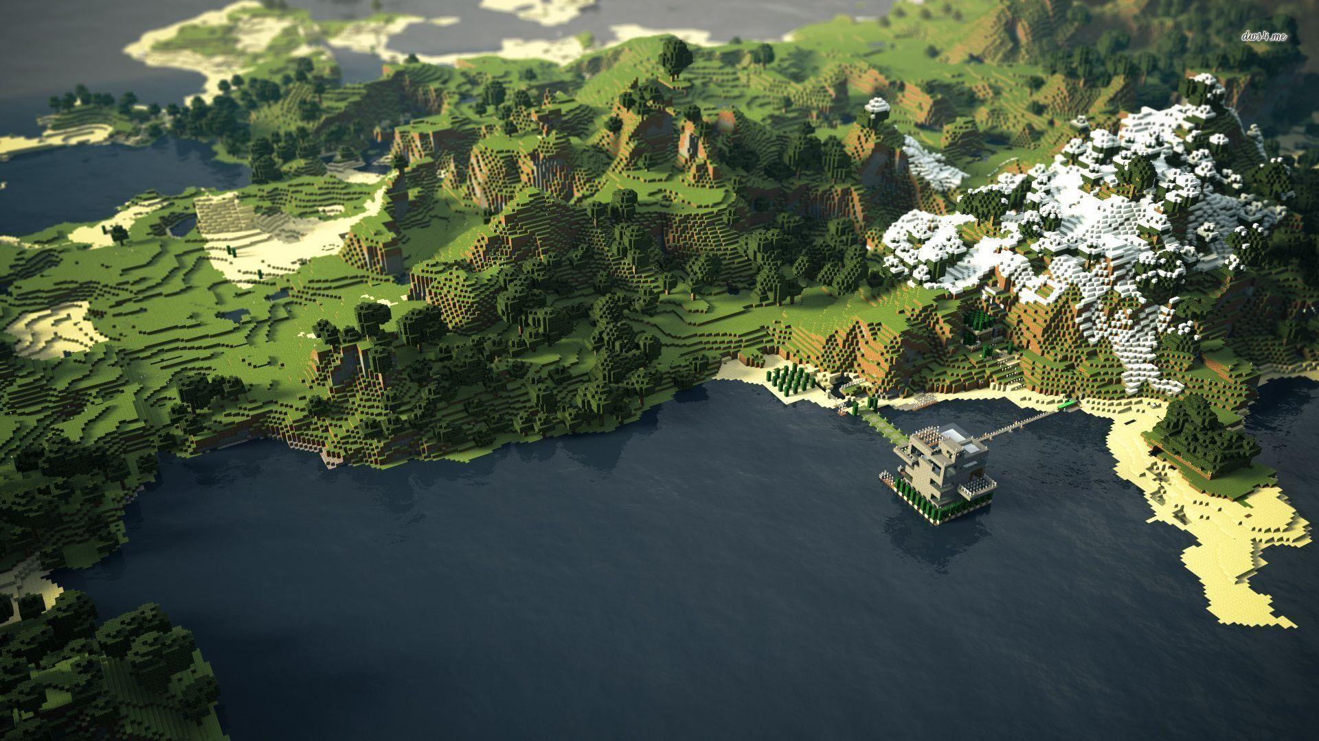 Download Wallpaper Minecraft Landscape - 1f786f0cb91bcfe568f08818c3b960b2  Trends_885261.jpg