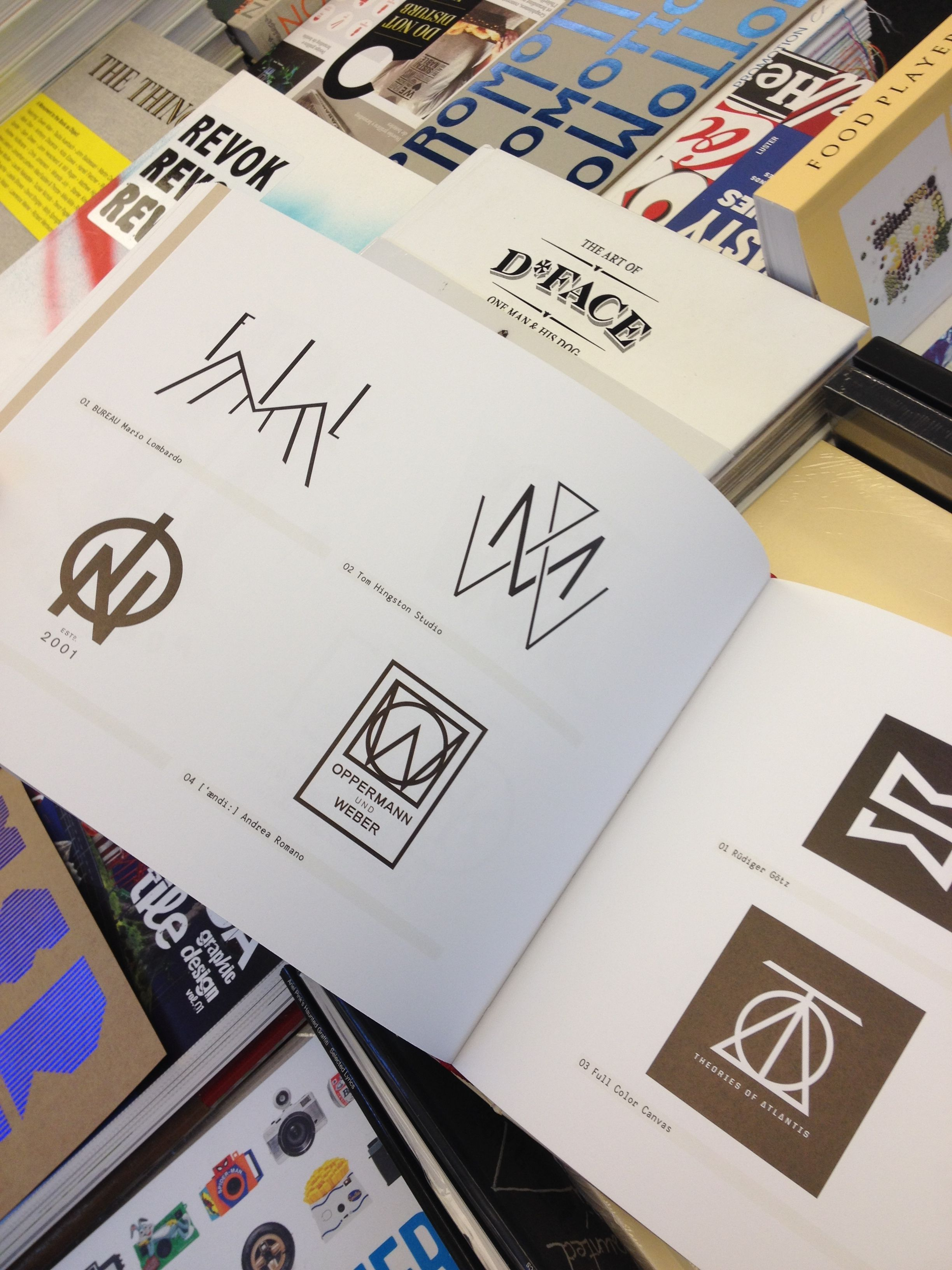 Los Logos 7 ist ein Buch mit Referenzen zeitgenössischer Logo ...